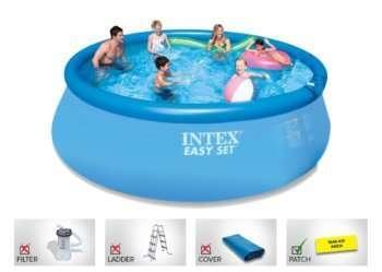 Easy set intex pool