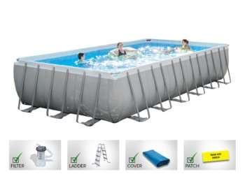 Intex Rectangular ultra pool